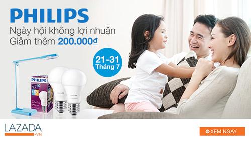 Sở hữu bộ 2 bóng đèn Philips đổi màu chỉ với 299.000 vnd - 2