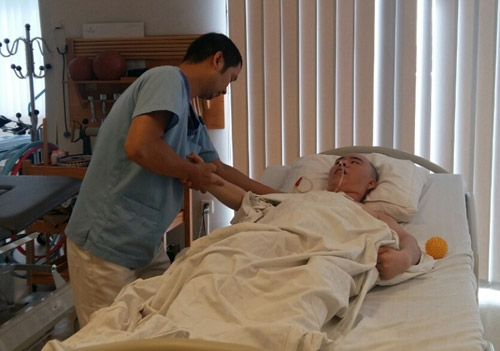 Điều kỳ diệu đến từ nghề điều dưỡng - 1