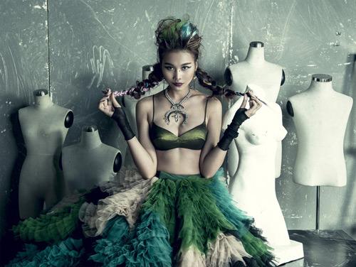 """Vietnam's Next Top Model """"bứt phá mọi giới hạn"""" ý tưởng - 2"""