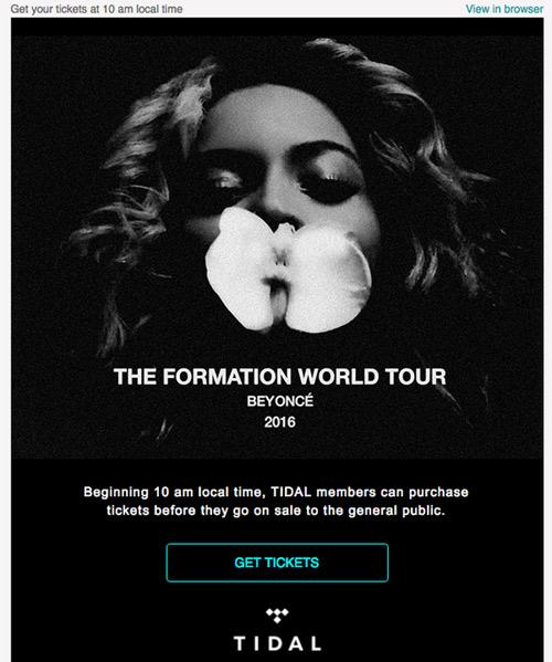"4 lý do giúp trang web stream nhạc Tidal ""vượt mặt"" Spotify - 2"