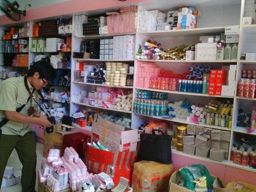 Đà Nẵng: Thu giữ hàng ngàn mỹ phẩm không rõ nguồn gốc - 1