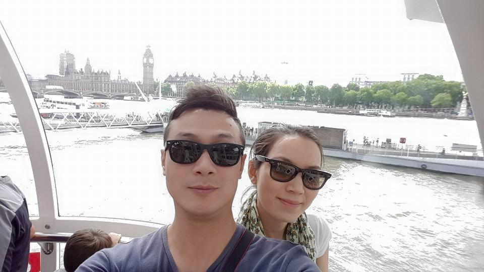 """Cuộc sống đáng mơ ước của MC Anh Tuấn và vợ """"hoa hậu"""" - 3"""