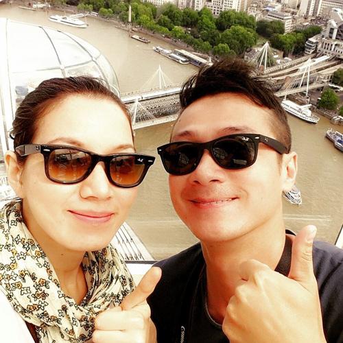 """Cuộc sống đáng mơ ước của MC Anh Tuấn và vợ """"hoa hậu"""" - 4"""