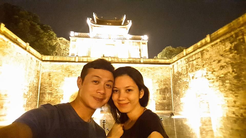 """Cuộc sống đáng mơ ước của MC Anh Tuấn và vợ """"hoa hậu"""" - 14"""