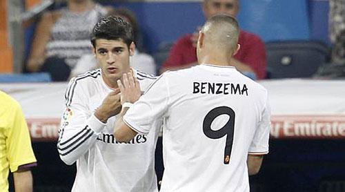 "Real: Vắng CR7, Zidane dùng ""song tấu"" Benzema–Morata - 2"