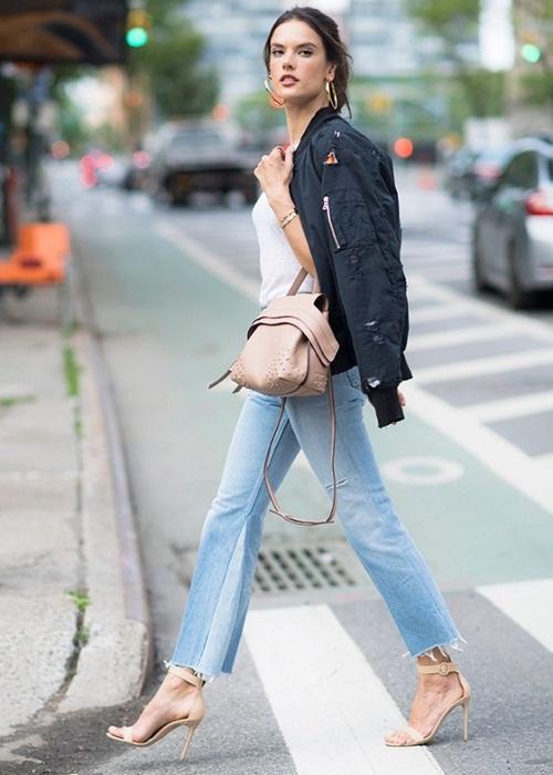 Quần jeans 2 màu - xu hướng phải thử ngay hè này! - 4