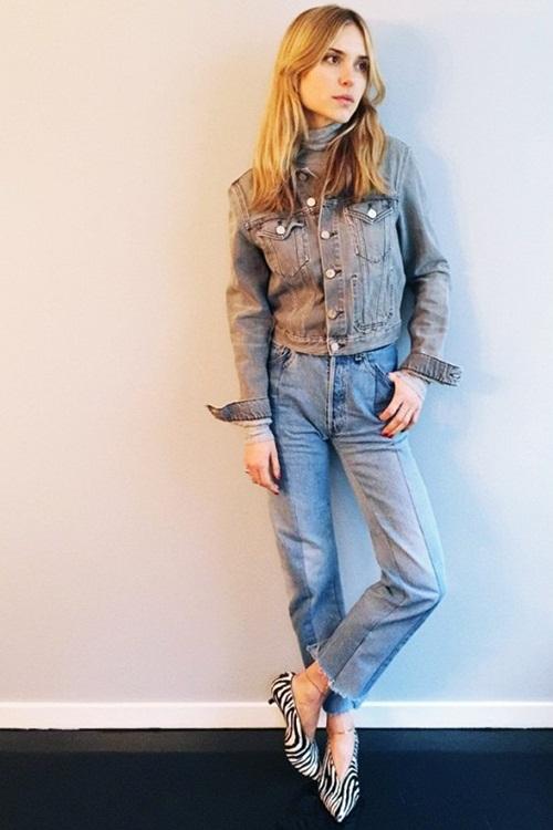Quần jeans 2 màu - xu hướng phải thử ngay hè này! - 5