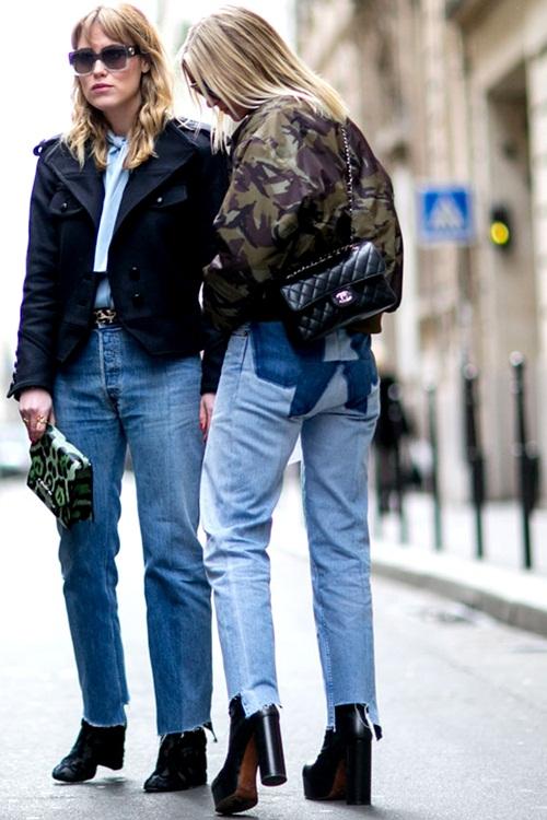 Quần jeans 2 màu - xu hướng phải thử ngay hè này! - 9