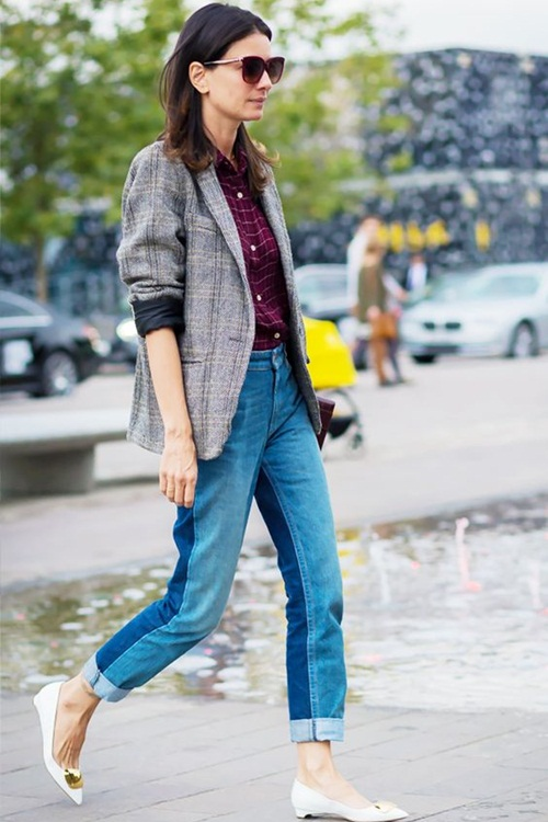 Quần jeans 2 màu - xu hướng phải thử ngay hè này! - 7