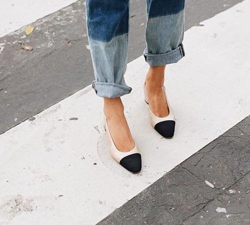 Quần jeans 2 màu - xu hướng phải thử ngay hè này! - 12