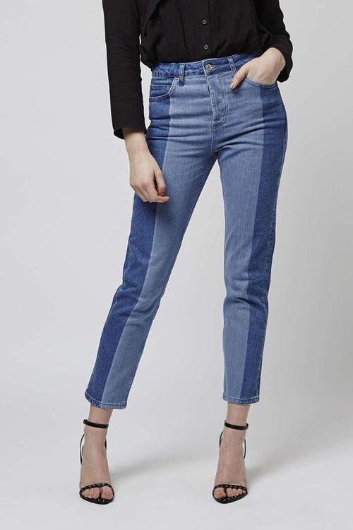 Quần jeans 2 màu - xu hướng phải thử ngay hè này! - 14