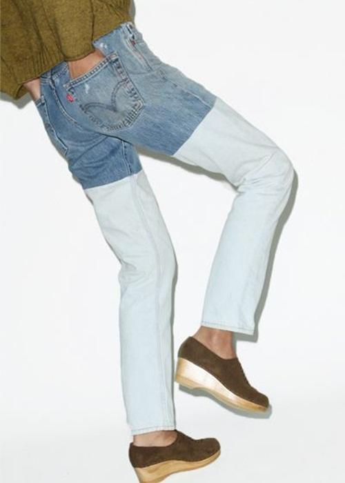 Quần jeans 2 màu - xu hướng phải thử ngay hè này! - 11