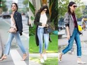 Thời trang - Quần jeans 2 màu - xu hướng phải thử ngay hè này!