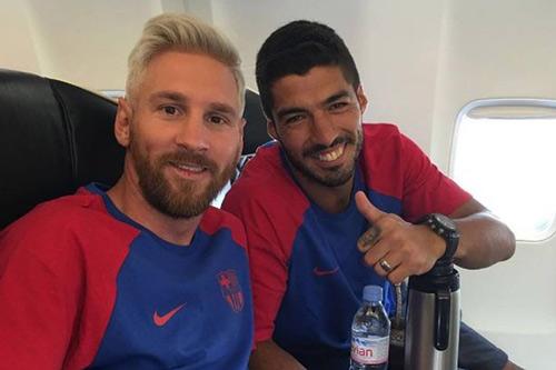 Messi với mái tóc gây bão hội quân cùng Barca - 4