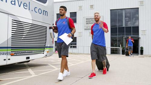 Messi với mái tóc gây bão hội quân cùng Barca - 5