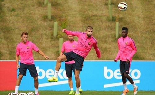 Messi với mái tóc gây bão hội quân cùng Barca - 8