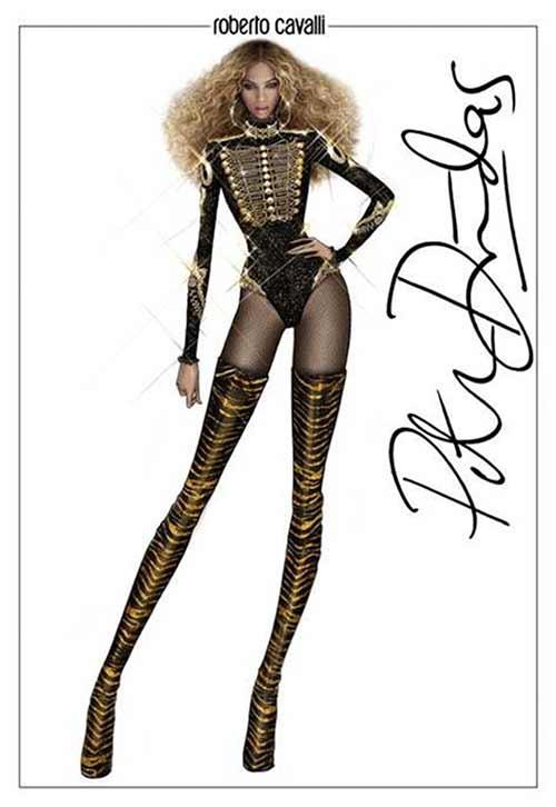 """Tủ đồ ấn tượng của Beyonce trong """"Formation World Tour"""" - 4"""