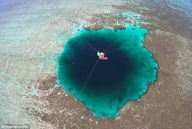 Tìm thấy hố khổng lồ sâu nhất thế giới ở Biển Đông? - 1