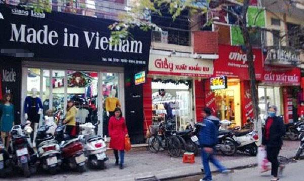 """Hàng TQ đội lốt, """"made in Việt Nam"""" toàn hàng Tàu - 1"""