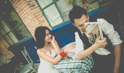 """Dương Triệu Vũ khoe """"ảnh cưới"""" với Ngọc Thanh Tâm - 9"""
