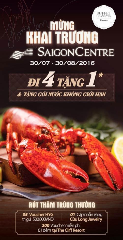 Khai trương nhà hàng Hoàng Yến Buffet Premier tại Saigon Centre - 5