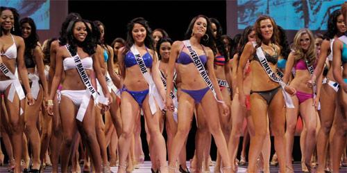 Mẫu đồ tập kín đáo thay thế bikini ở Hoa hậu teen Mỹ - 1