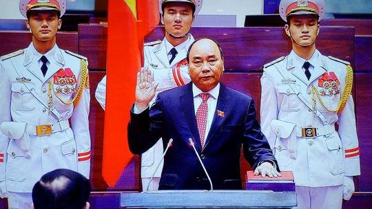 Thủ tướng nhắc đến Formosa trong lễ tuyên thệ - 1