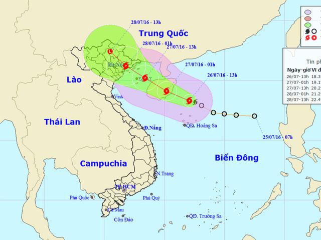 Biển Đông có bão số 1, Bắc Bộ sắp mưa to - 1