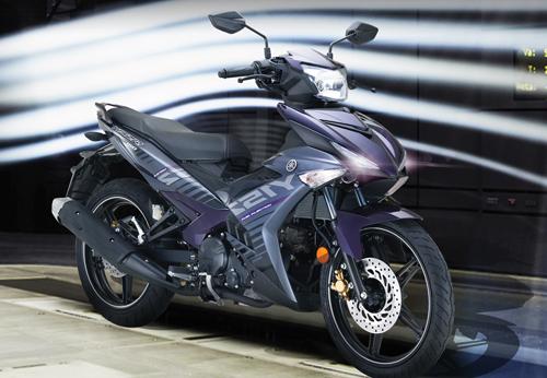 Yamaha Exciter 2016 màu tím mới ra mắt - 1