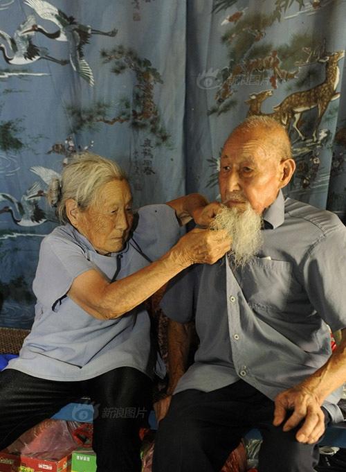 Cặp vợ chồng TQ 103 tuổi kỷ niệm đám cưới kim cương - 5