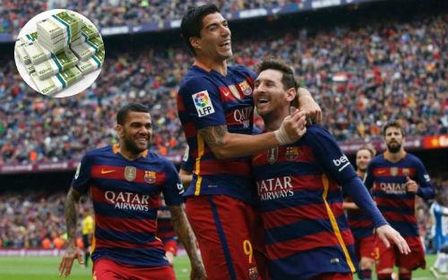 Tổng kết mùa 2015/16: Barca đạt doanh thu kỷ lục - 1