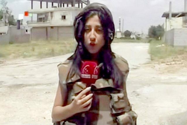 """Những nữ nhà báo không sợ """"đầu rơi máu chảy"""" ở Syria - 2"""