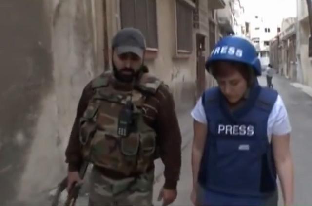 """Những nữ nhà báo không sợ """"đầu rơi máu chảy"""" ở Syria - 3"""