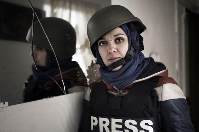 """Những nữ nhà báo không sợ """"đầu rơi máu chảy"""" ở Syria - 6"""