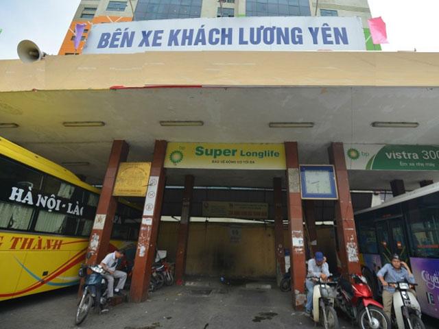 HN: Đóng cửa bến xe Lương Yên từ ngày 27.7 - 1