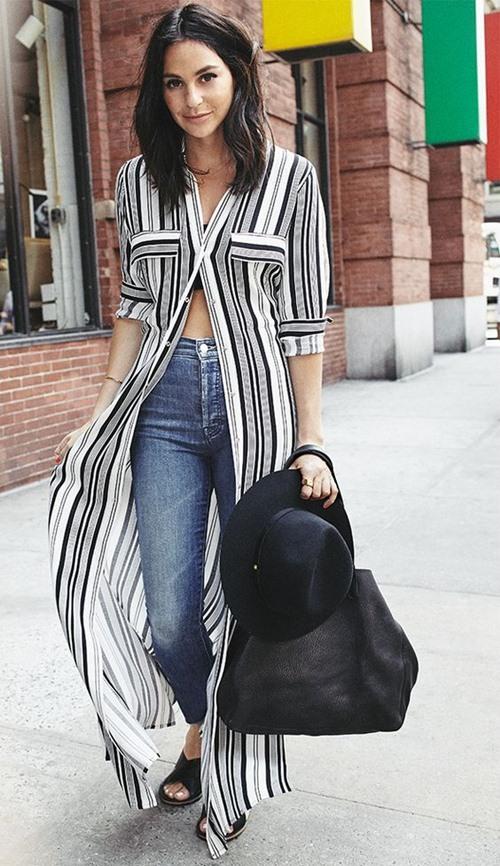 Cách mặc áo dáng dài sẽ khiến bạn ngơ ngẩn vì quá đẹp - 5