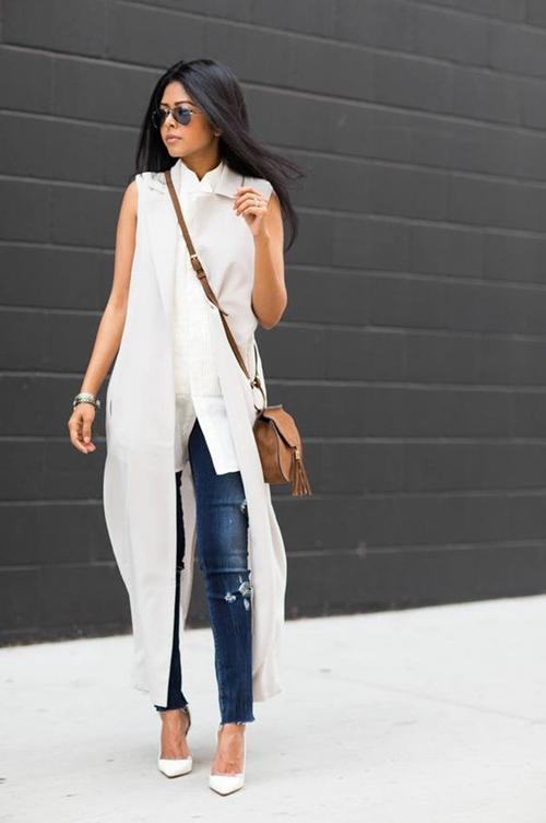 Cách mặc áo dáng dài sẽ khiến bạn ngơ ngẩn vì quá đẹp - 11