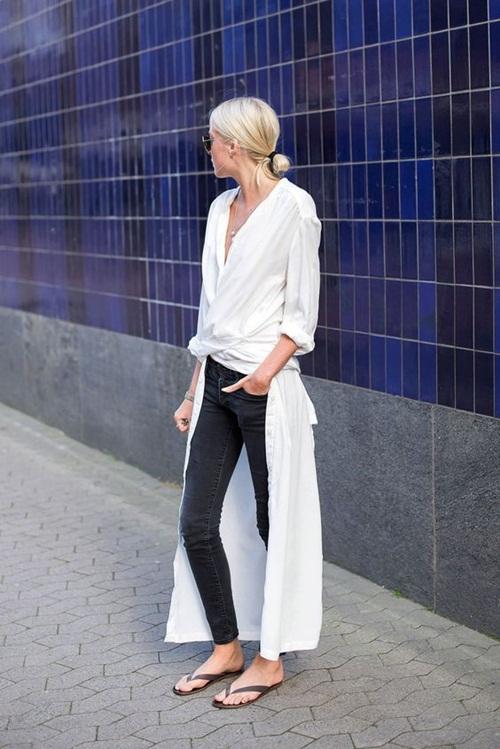 Cách mặc áo dáng dài sẽ khiến bạn ngơ ngẩn vì quá đẹp - 7
