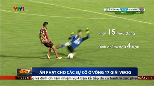 """Vào bóng """"kiểu triệt hạ"""", Bửu Ngọc bị cấm thi đấu 4 trận - 1"""