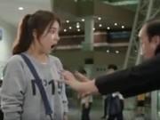 """Video phim: Hài hước cảnh người đẹp """"khóa chân"""" tên lừa đảo"""