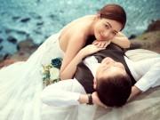 Ảnh cưới tuyệt đẹp ở Vũng Tàu của hoa khôi Bích Khanh