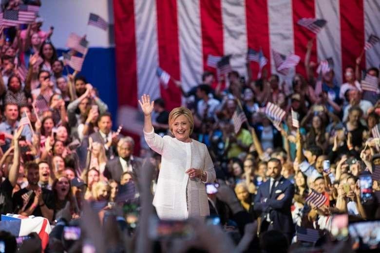Bà Clinton chính thức trở thành ứng viên tổng thống Mỹ - 1