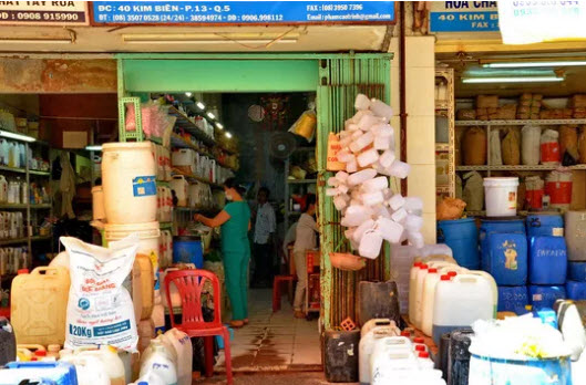 Sớm xóa hẳn chợ hóa chất Kim Biên - 1