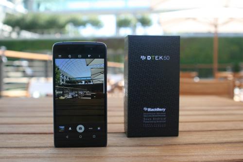 BlackBerry DTEK50 chạy Android chính thức ra mắt - 4