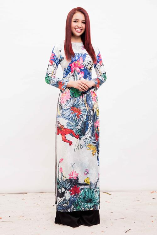Con gái hoa hậu Diệu Hoa xinh đẹp không thua mẹ - 9