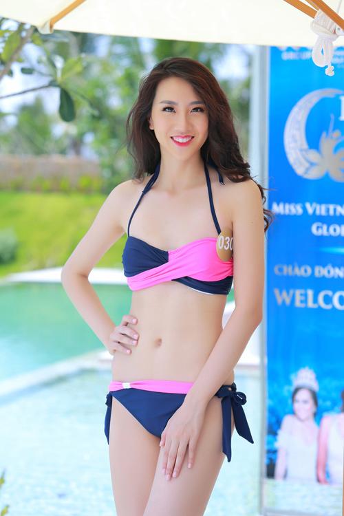 Dàn thí sinh hoa hậu Mỹ gốc Việt nóng bỏng với bikini - 2