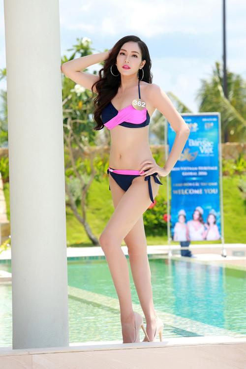 Dàn thí sinh hoa hậu Mỹ gốc Việt nóng bỏng với bikini - 6