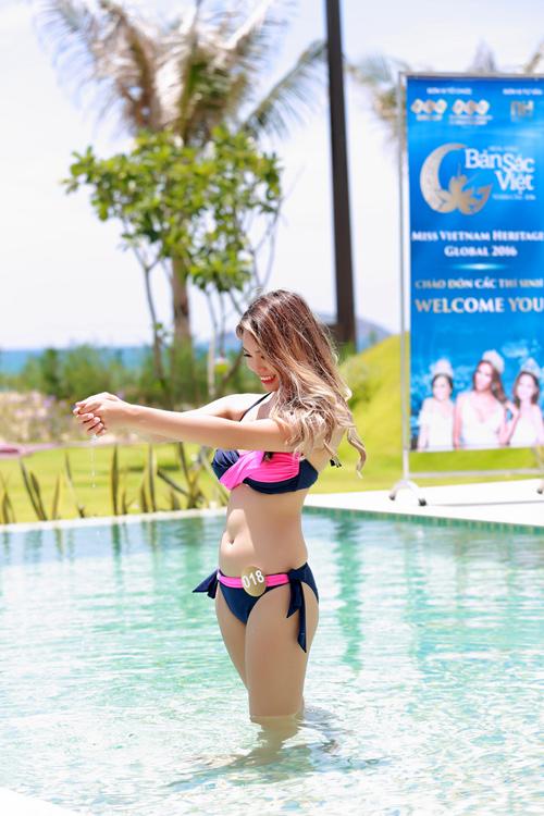 Dàn thí sinh hoa hậu Mỹ gốc Việt nóng bỏng với bikini - 8