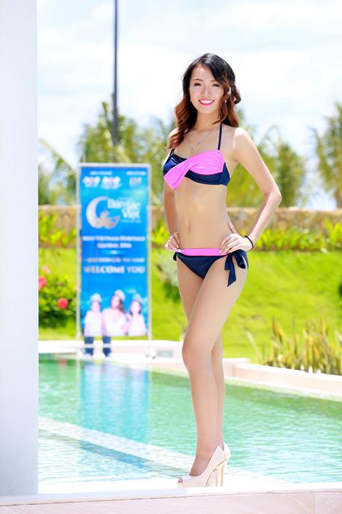 Dàn thí sinh hoa hậu Mỹ gốc Việt nóng bỏng với bikini - 7