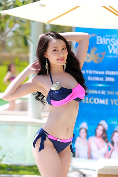 Dàn thí sinh hoa hậu Mỹ gốc Việt nóng bỏng với bikini - 10